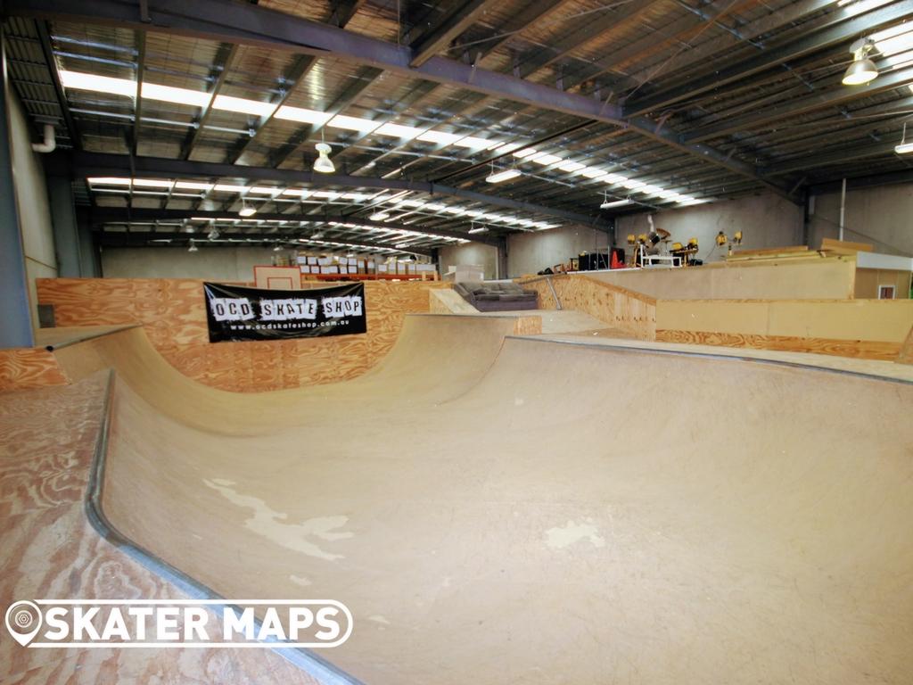 OCD Skatepark, Indoor Skatepark