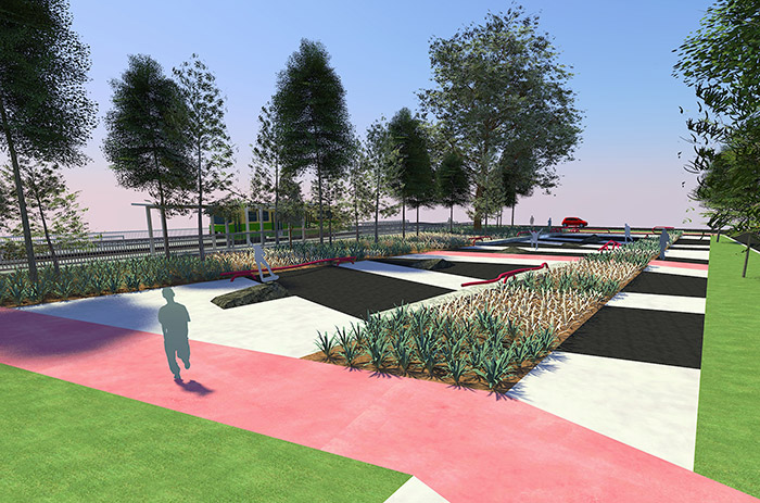 Highpoint Plaza Design