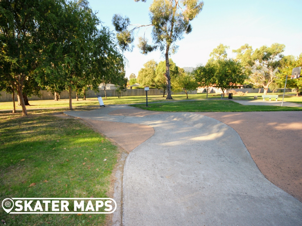 Kilsyth South Skatepark Pump Track Vic Aus