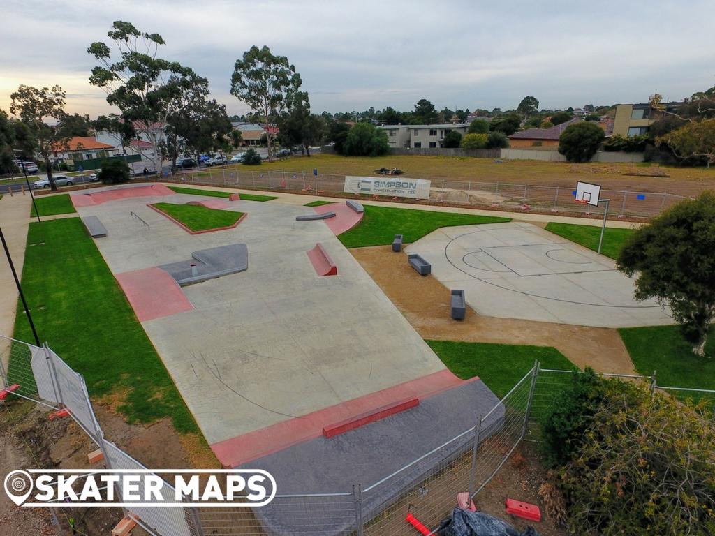 Sunshine Plaza Skatepark Melbourne