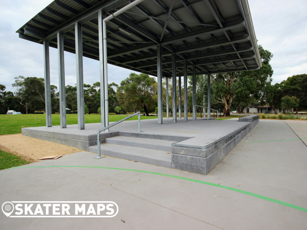 New Melbourne Skatepark