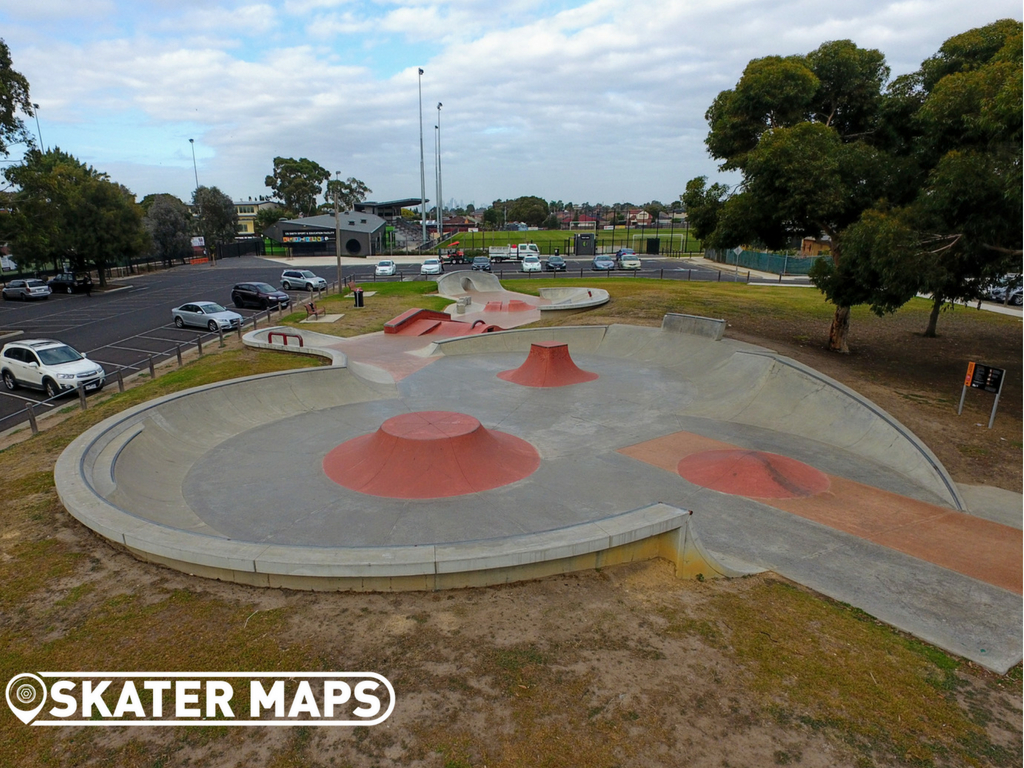 Fawkner Skatepark Melbourne, Vic