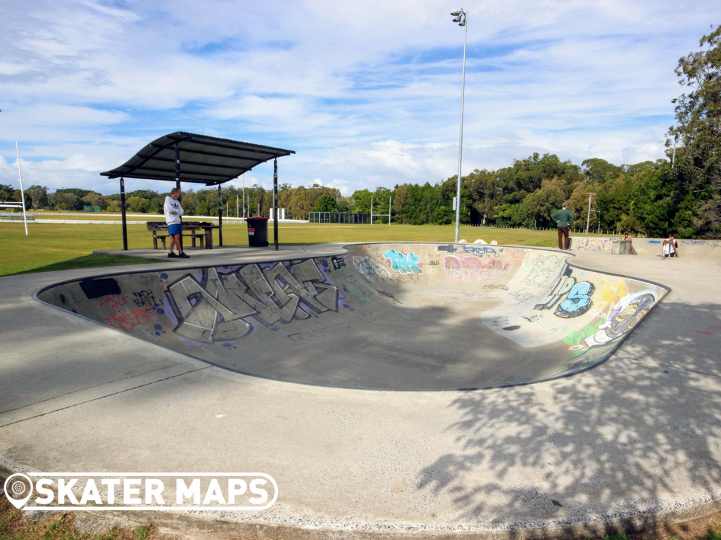 Brunswick Heads Skate Park NSW Aus Skateparks