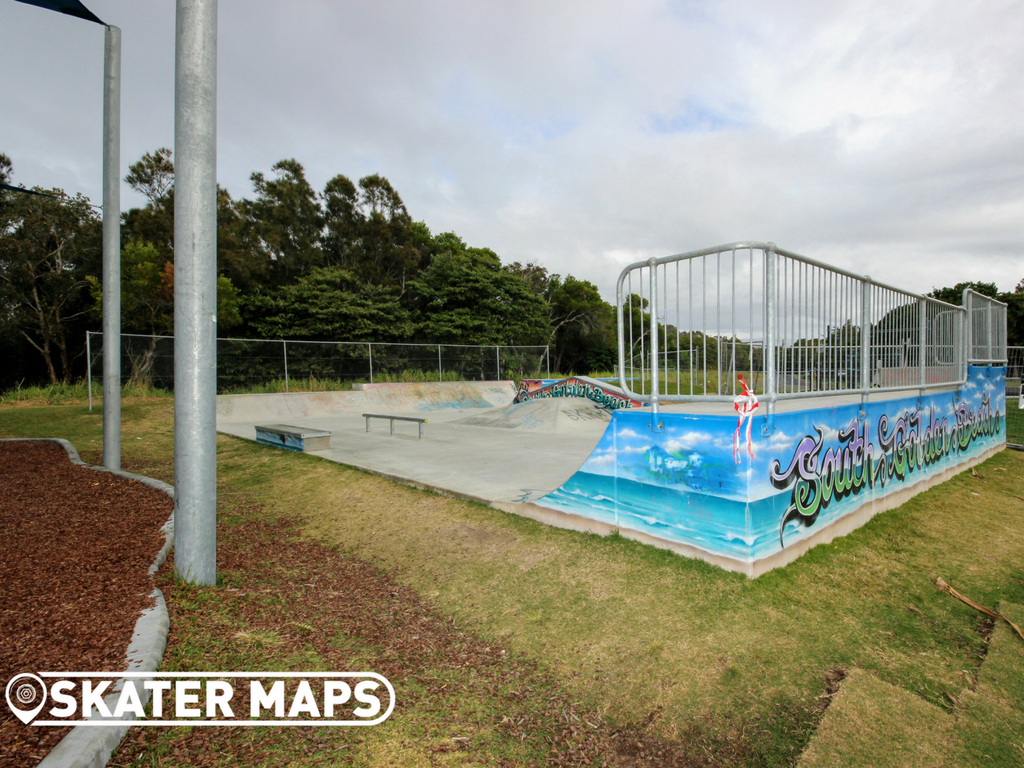 Ocean Shores Skatepark NSW South Golden Beach NSW Australia