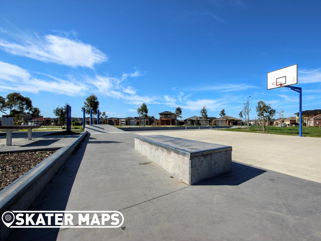 Truganina Warm Up Skatepark Melbourne Vic Australia Skate Parks
