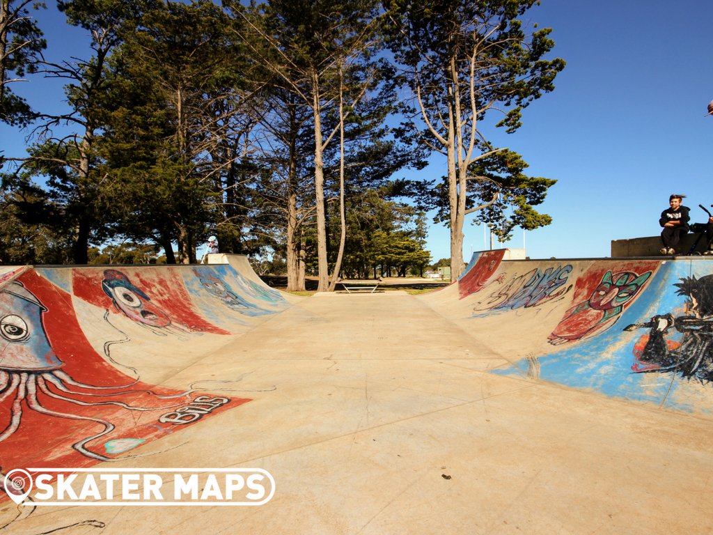 New Bannockburn Skate Park Vic