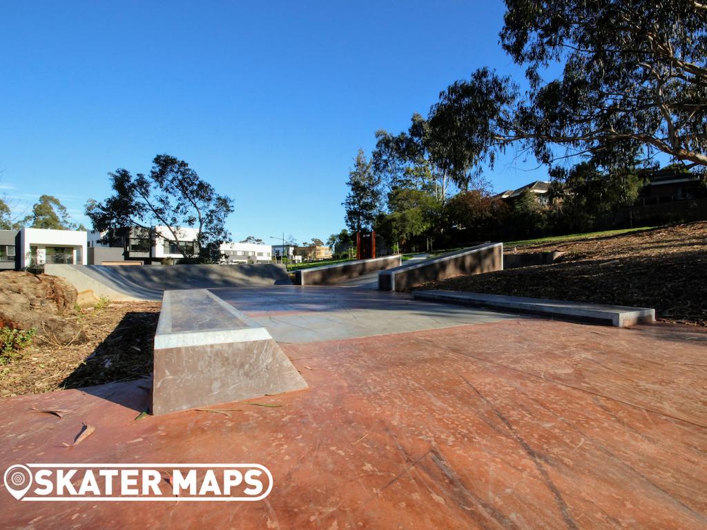 Lawford Plaza Reserve Skatepark Doncaster Vic