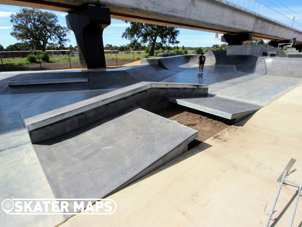 New Mernda Skateboard Park Melbourne Vic