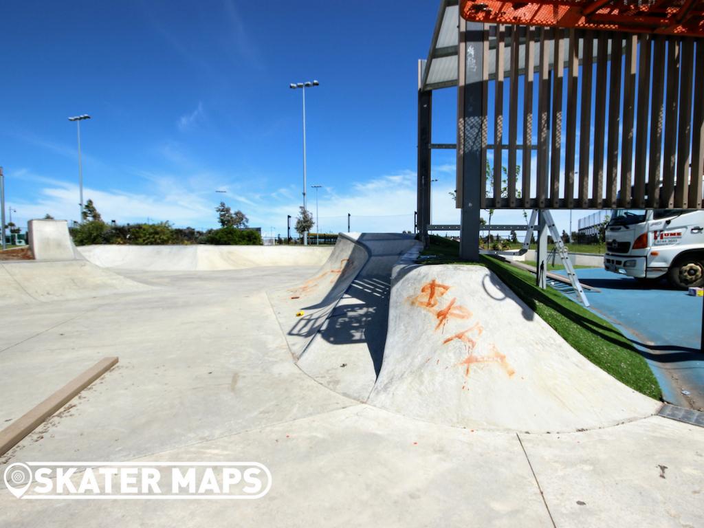 Newbury Skatepark Craigieburn Melbourne Vic