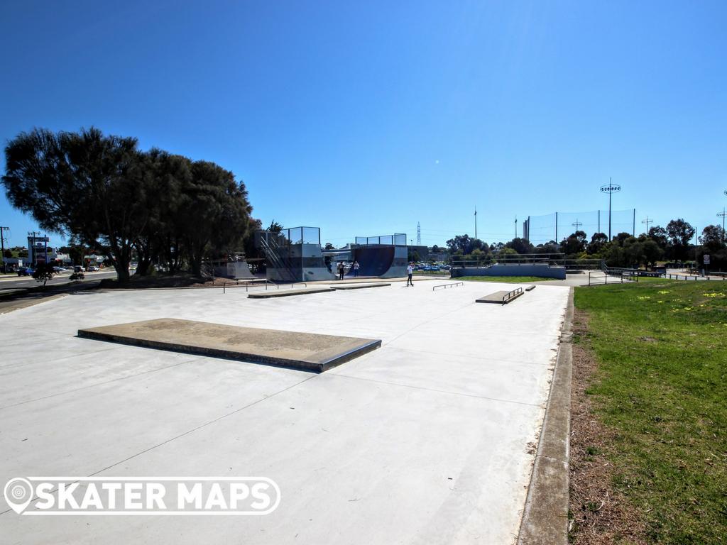 Waurn Ponds Skatepark Geelong Vic Aus Skateboard Parks