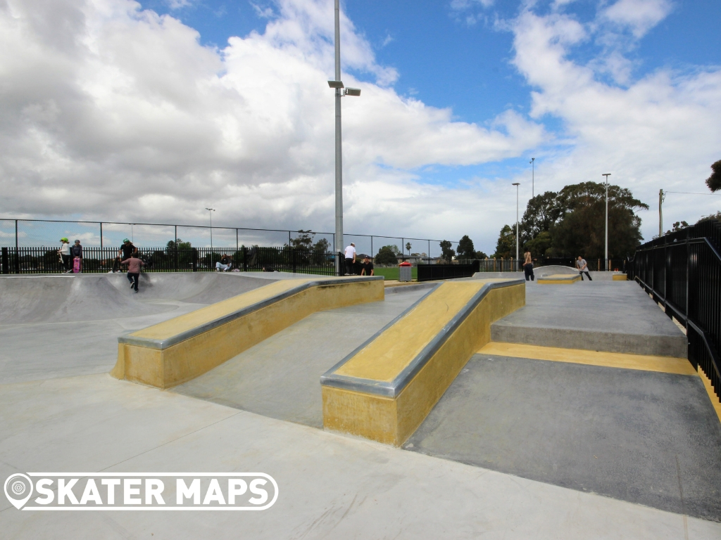 Bailey Reserve Skatepark Glen Eira.