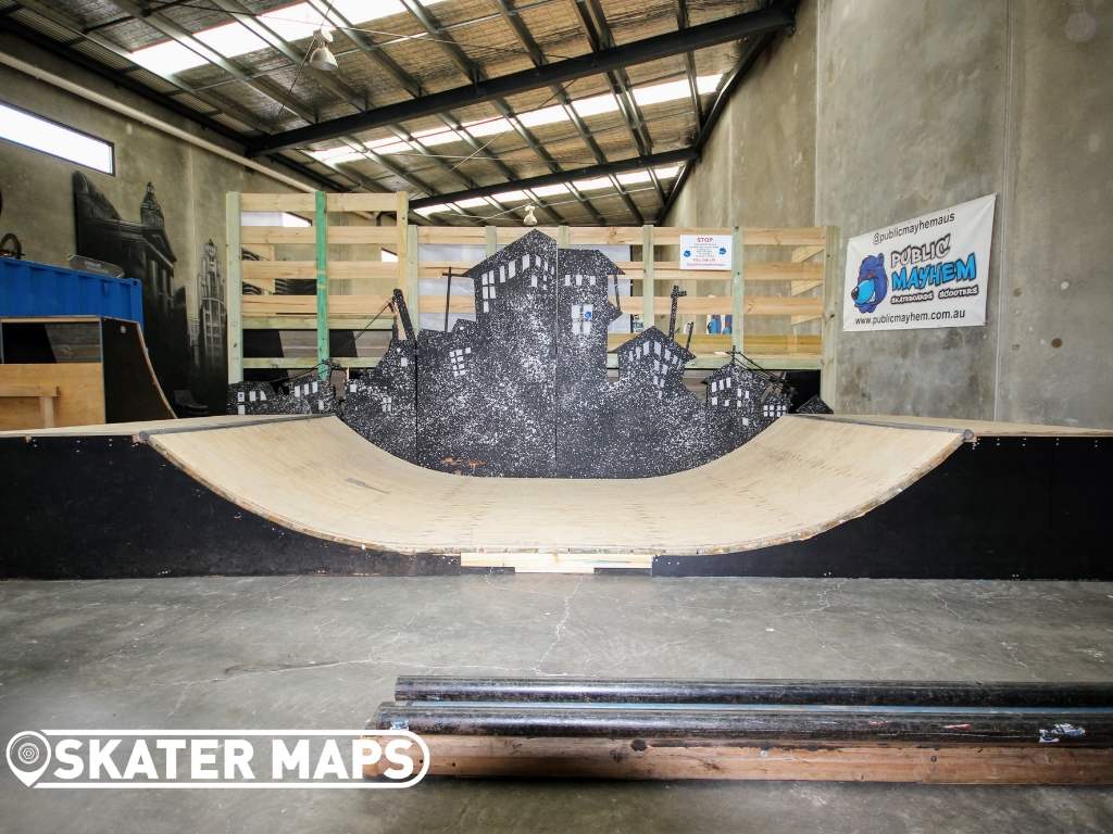 Indoor Skate Park Melbourne Aus