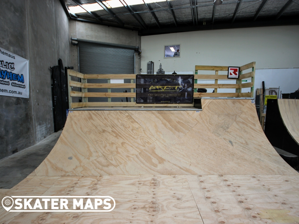 Public Meyham Private indoor Skate Park Melbourne