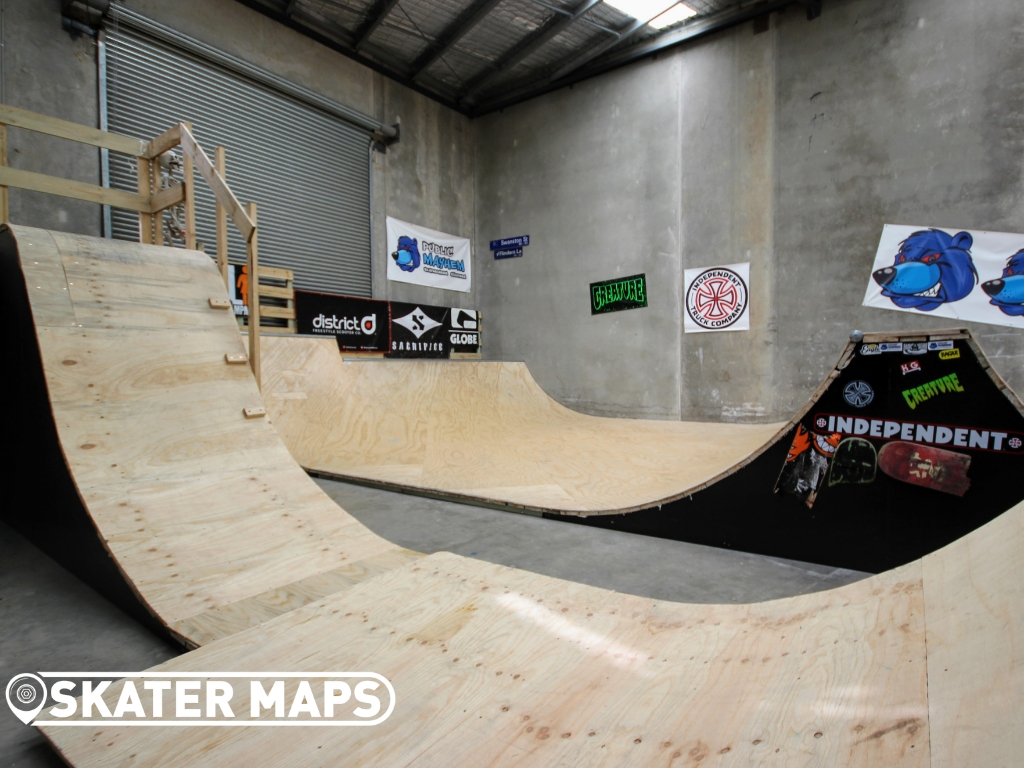 PRIVATE INDOOR SKATEPARKS AUSTRALIA