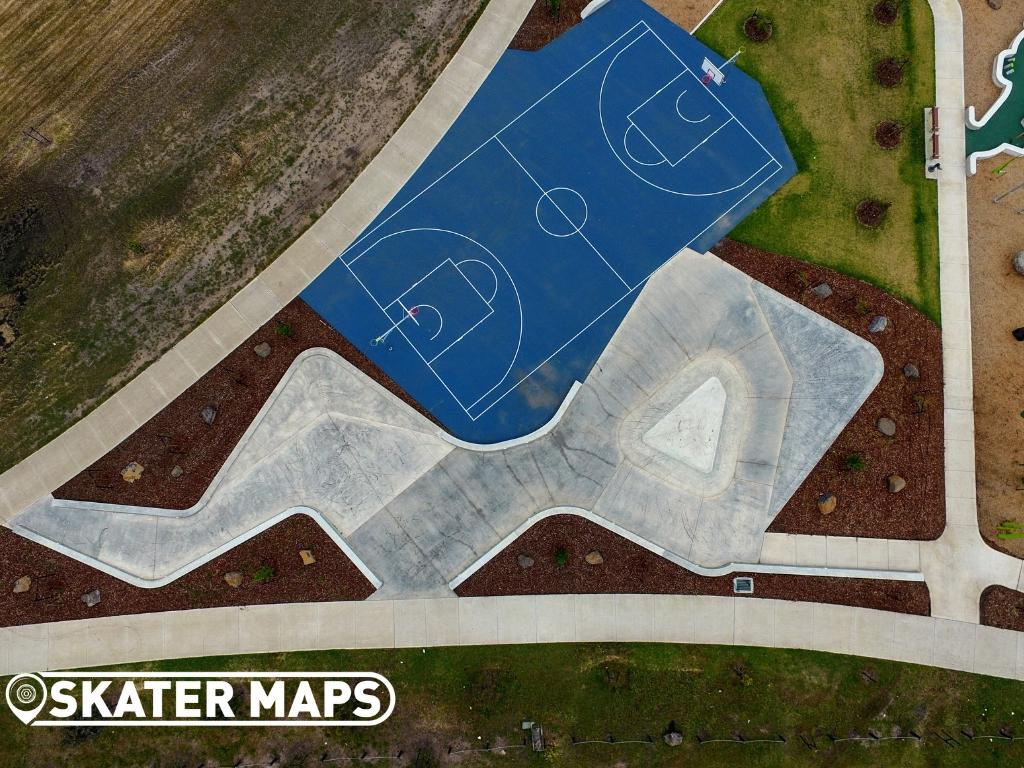 Roxburgh Park Skatepark Vic Australia Skateboard Parks