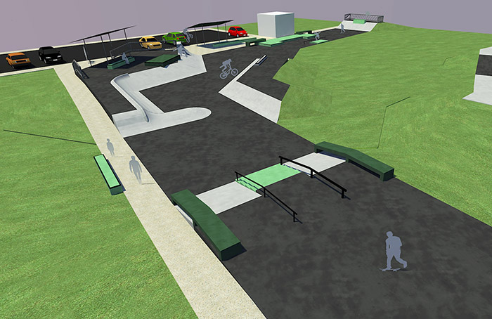 New Tugun skatepark design