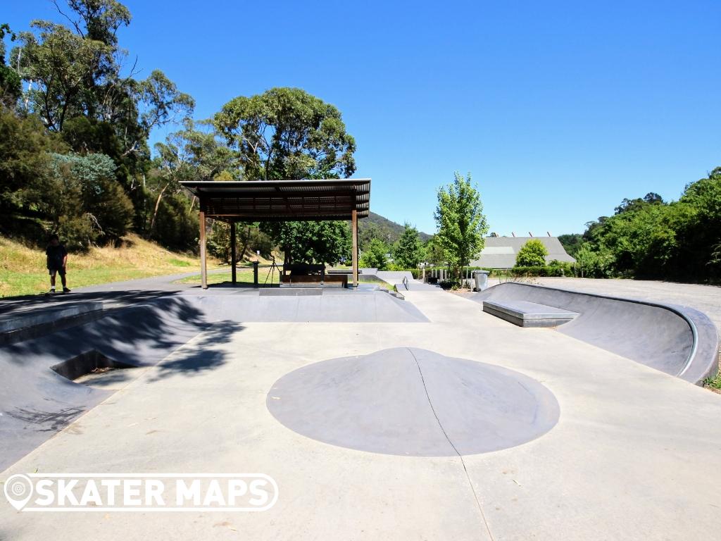 Warburton Skatepark, Warburton Victoria Australia