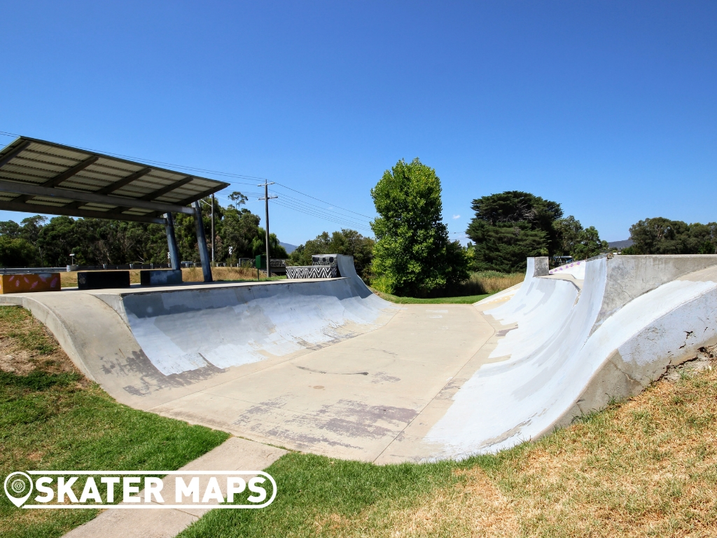 Whittlesea Skatepark Mini Ramp Vic Australia