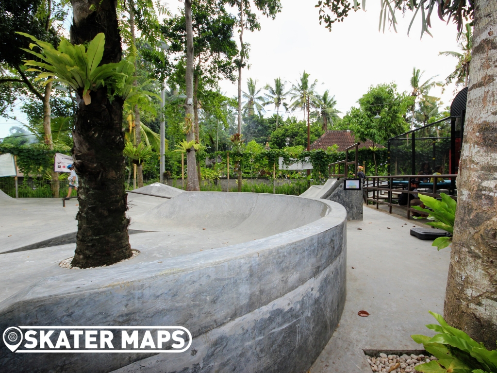 Ubud skatepark Bali Indonesia
