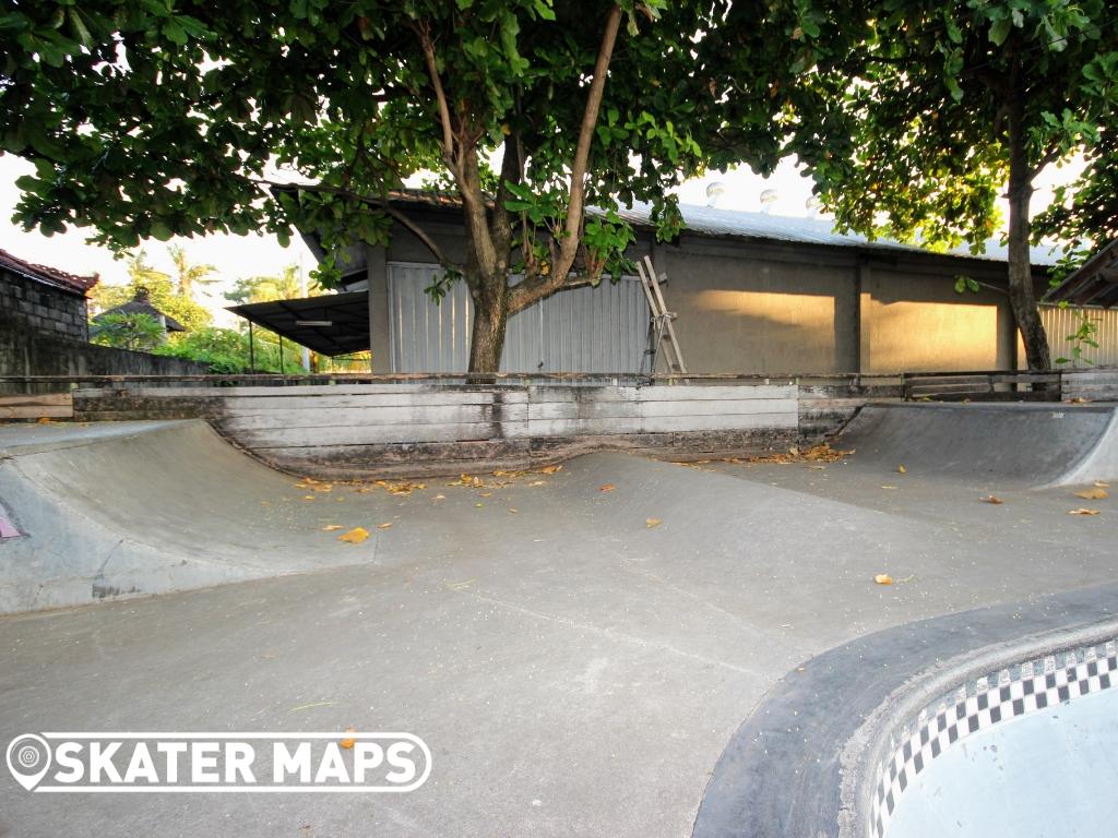 Globe Skateboarding Park Bali Indonesia