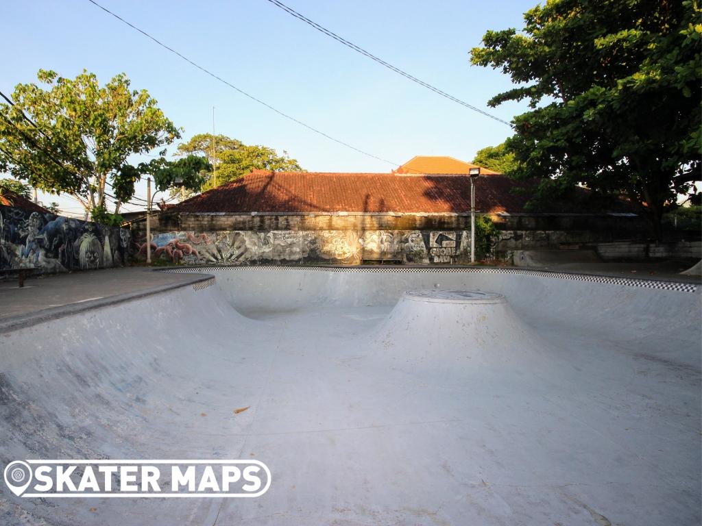 Globe Skateboarding Park Indo