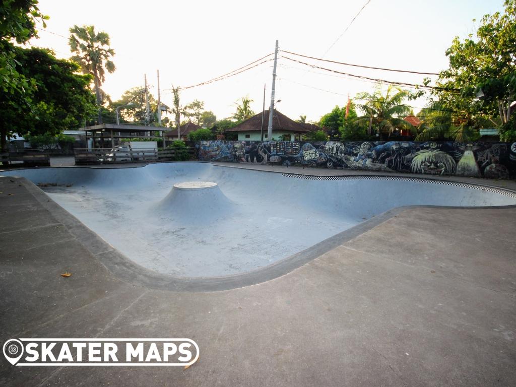 Globe Skateboard Park Bali Indonesia