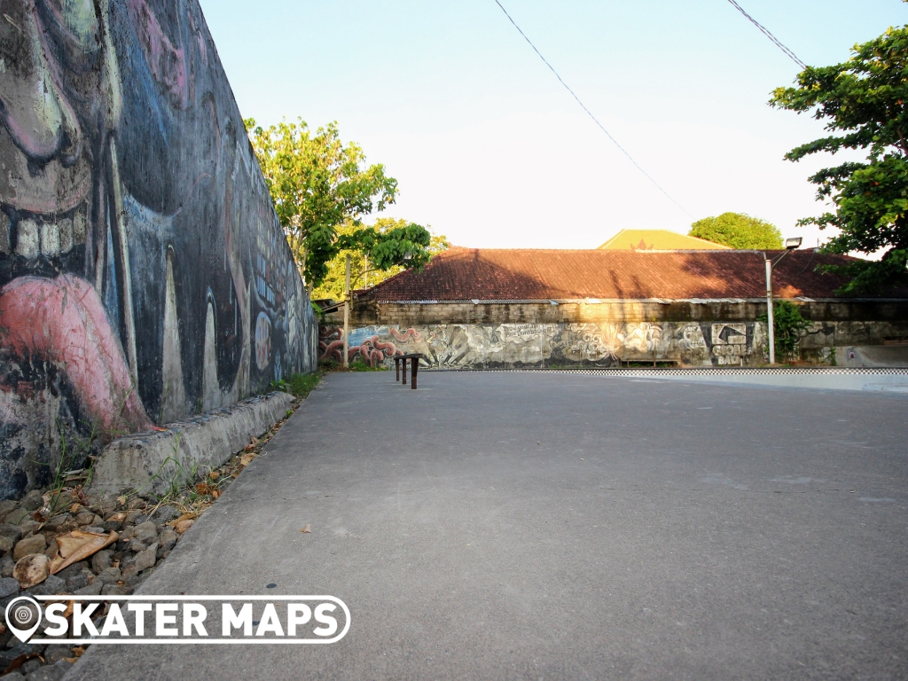 Globe Skateboarding Park Bali Indo