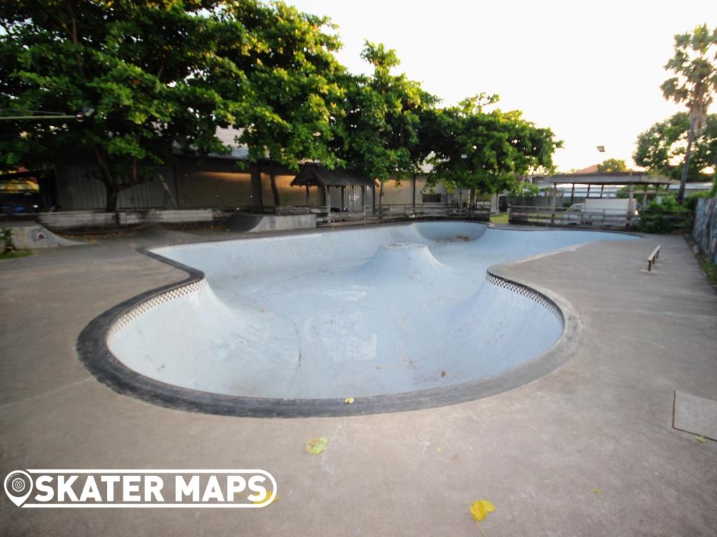 Skateboarding Bowl Bali Indonesia
