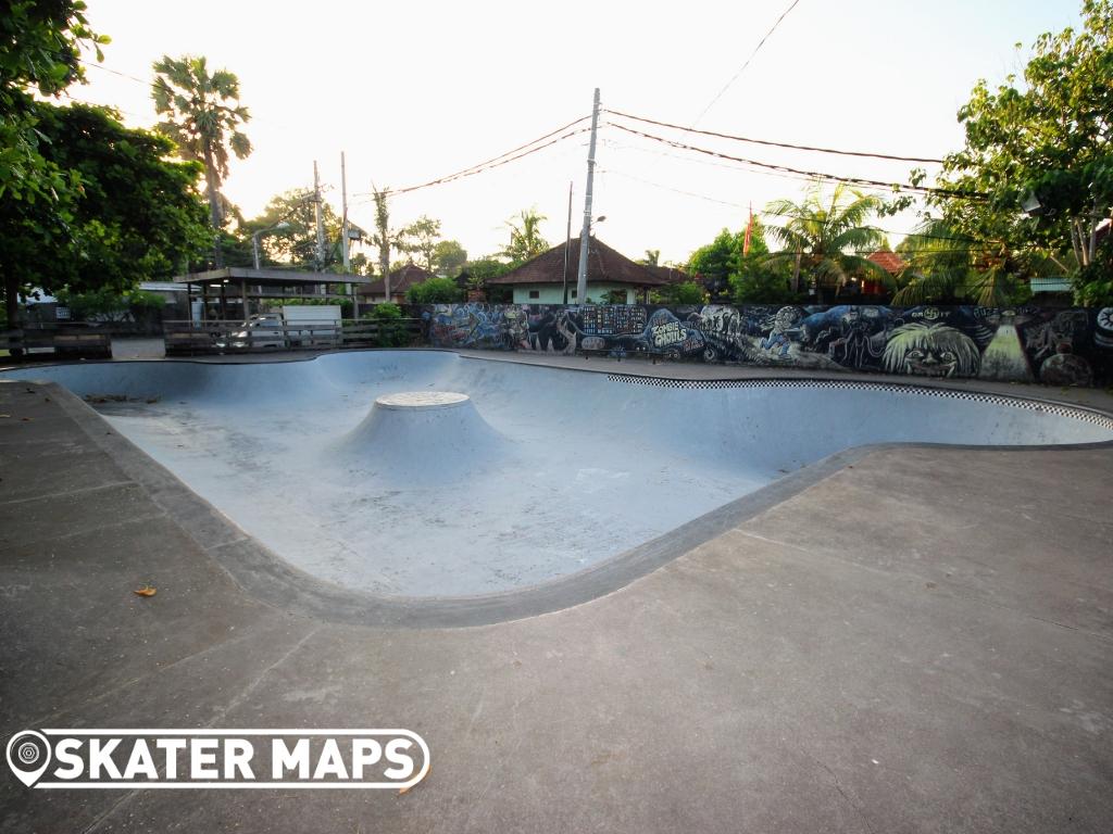 Skate Bowl Bali