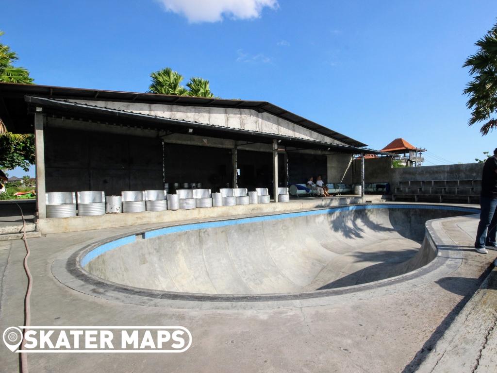 Pretty Poison Skate Bowl Cangu Bali Indonesia