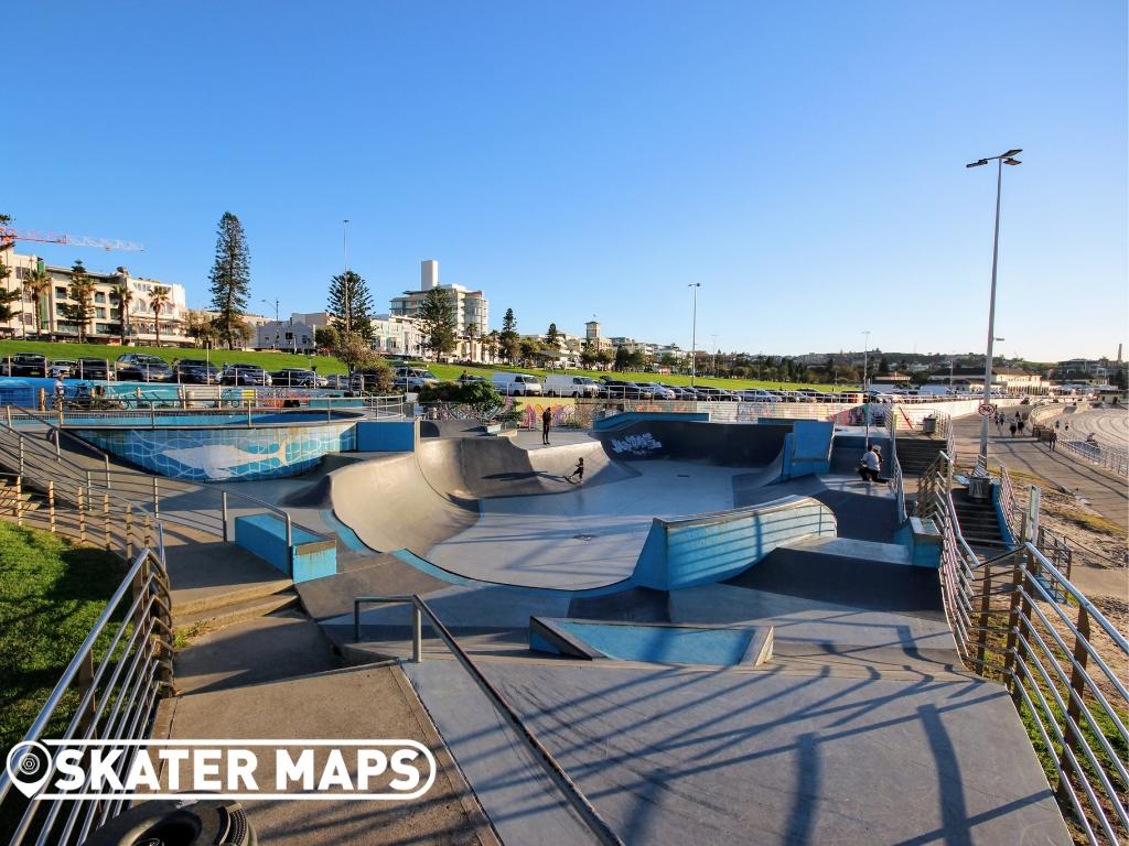 Bondi Skatepark Bondi Beach NSW Australia