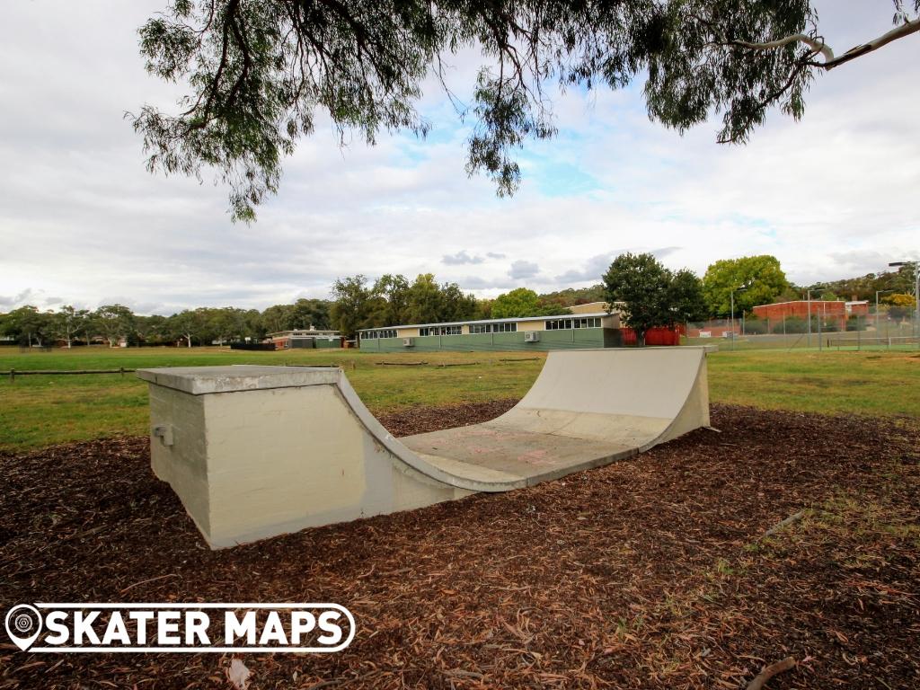 Campbell Mini Ramp Skatepark Canberra ACT Australia