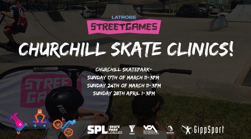 Churchill Skate Clinics