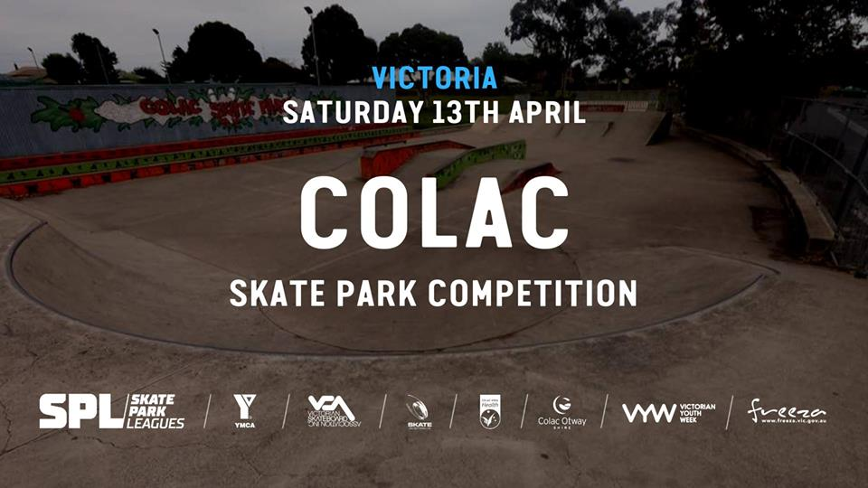 Colac Vic Skate Park Comp