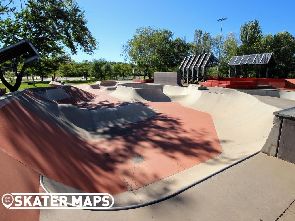 Eddison Skate Park Canberra ACT