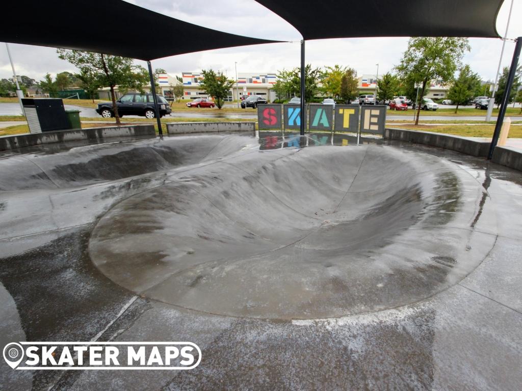 Franklin Dish Skate Park / Bowl Canberra ACT Australia