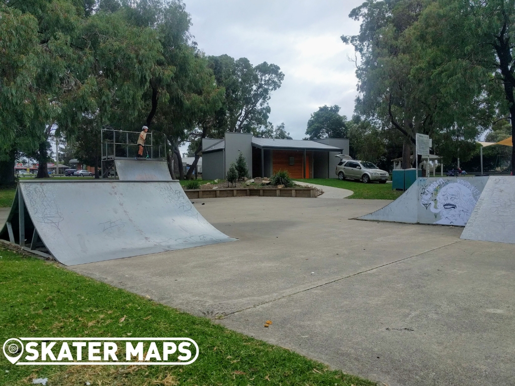 Quarters, Ramps & Spine Concrete Skate Park