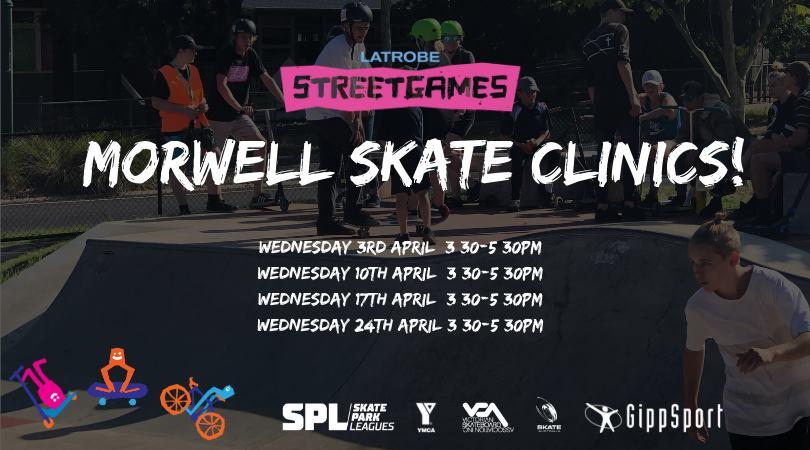 Morwell Skate Clinics