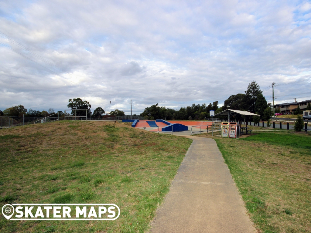 Railway Park Skatepark Queanbeyan NSW AUS