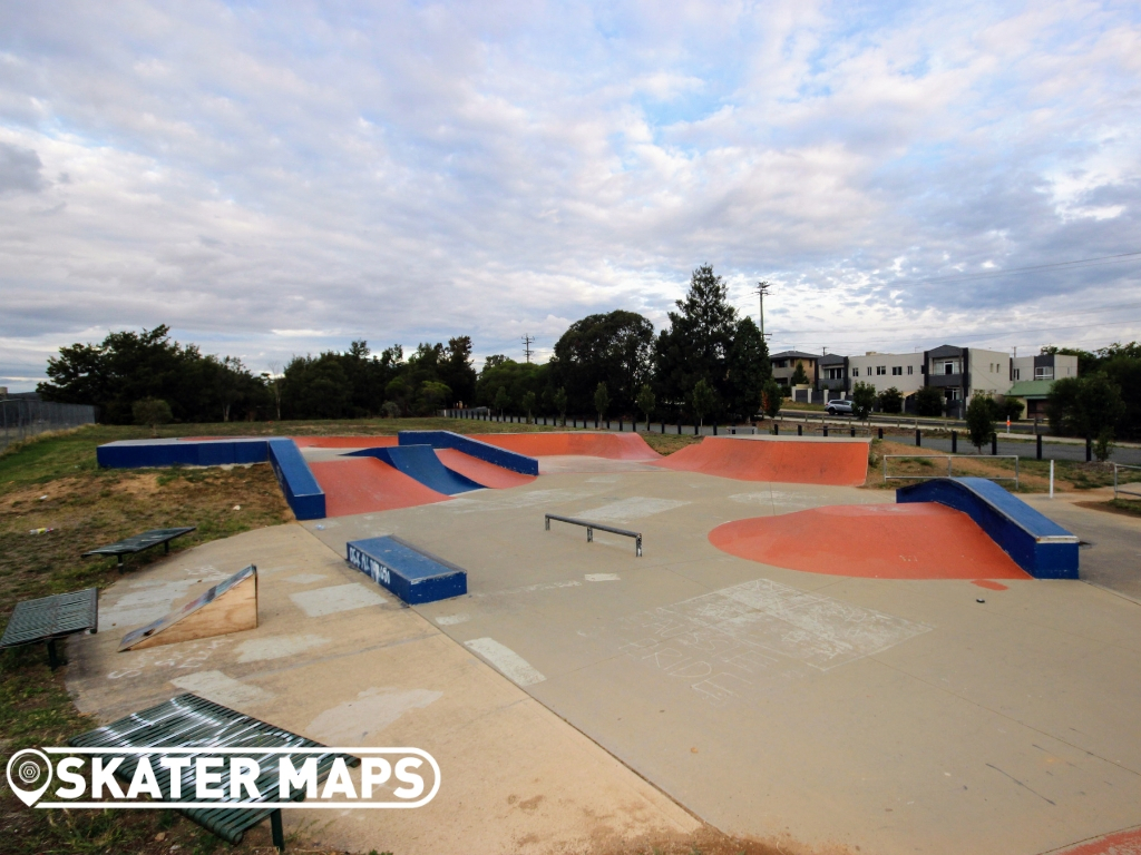 Railway Park Skatepark Queanbeyan
