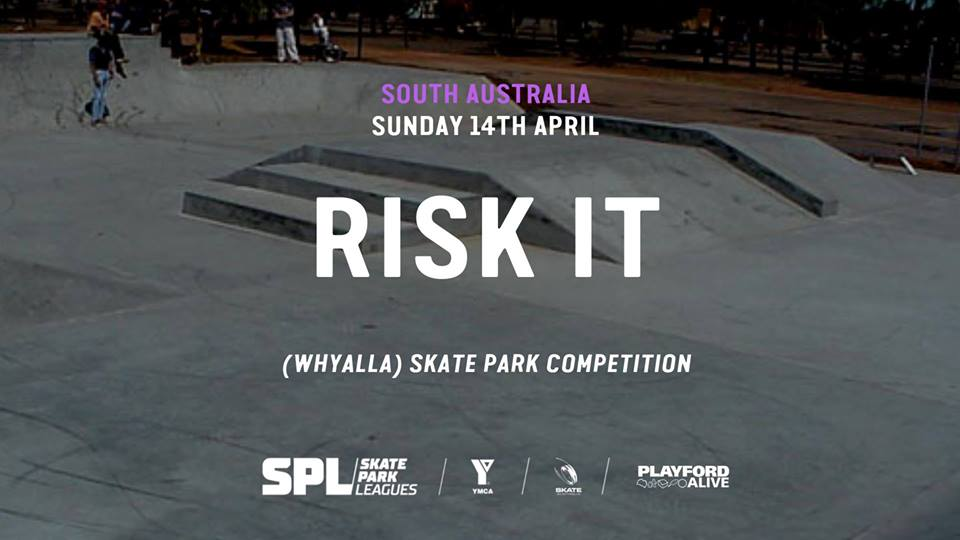 Risk It Skate Park Competition
