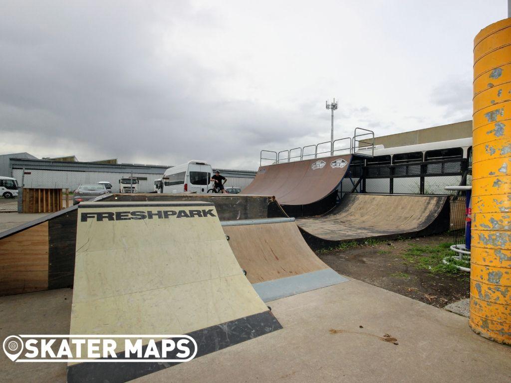 Outdoor Private Skatepark